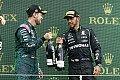 Podium weg, Vettel disqualifiziert: Zu wenig Benzin im Tank