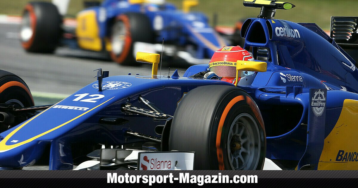 nasr und ericsson fahren 2016 f r sauber formel 1. Black Bedroom Furniture Sets. Home Design Ideas