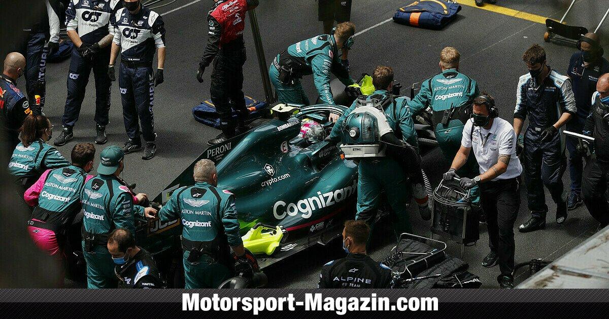 Formel 1 Startaufstellung Am Sonntag