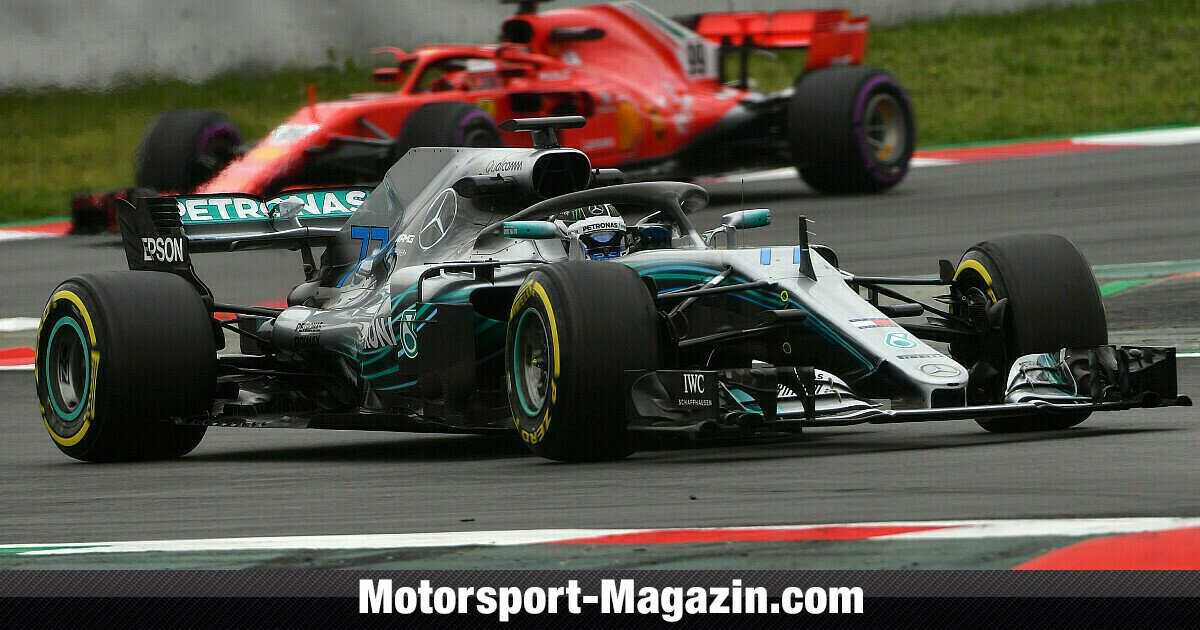 formel 1 barcelona test tag 2 bottas vor ferrari nachwuchs. Black Bedroom Furniture Sets. Home Design Ideas