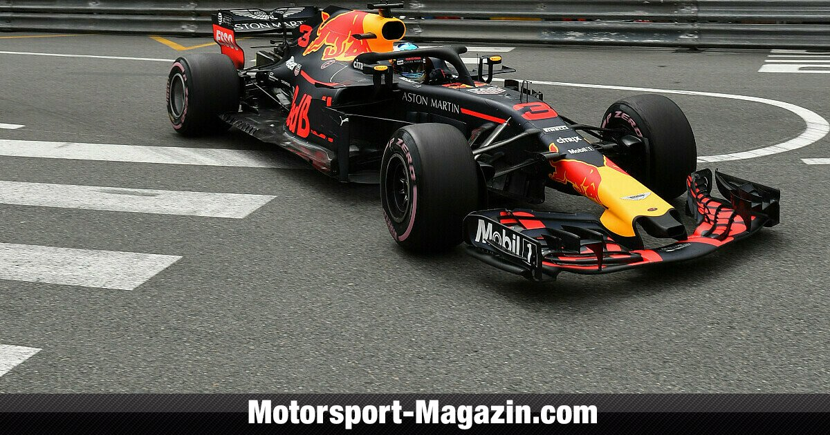 formel 1 monaco red bull gala im fp1 kurzes verstappen. Black Bedroom Furniture Sets. Home Design Ideas