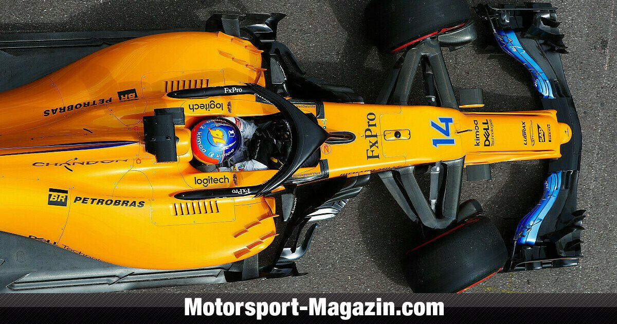 formel 1 monaco 2018 technik rger bremst alonsos mclaren aus. Black Bedroom Furniture Sets. Home Design Ideas