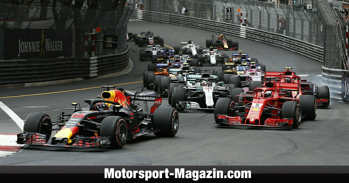 formel 1 tv quoten monaco gp 2018 neuer saisonrekord f r rtl. Black Bedroom Furniture Sets. Home Design Ideas