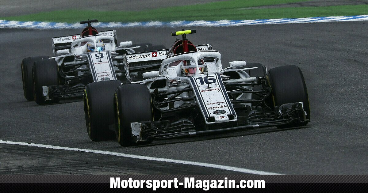 formel 1 2018 sauber stoppt entwicklung regeln 2019. Black Bedroom Furniture Sets. Home Design Ideas