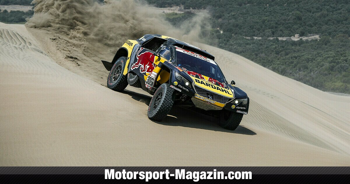 rallye dakar 2019 sebastien loeb holt vierten tagessieg. Black Bedroom Furniture Sets. Home Design Ideas
