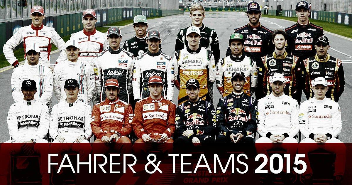 Wer startet 2015 für welches Team?, Foto: Motorsport-Magazin.com