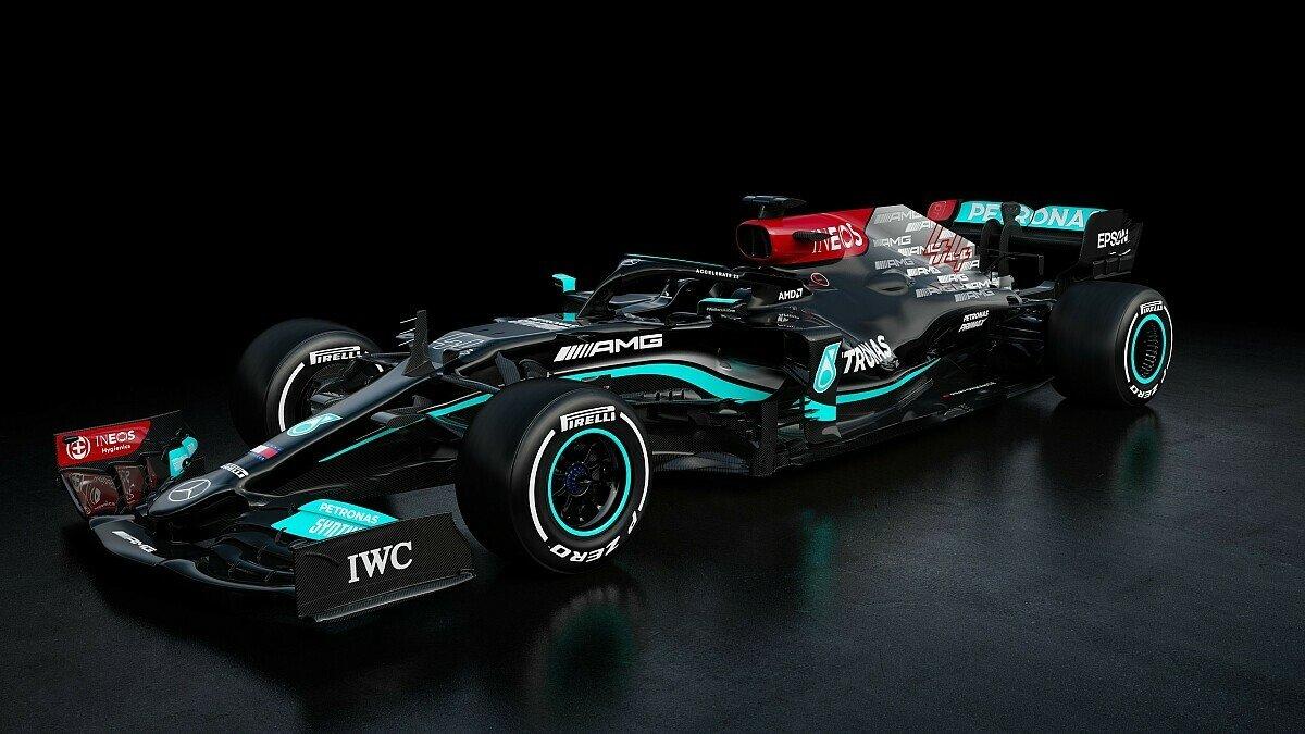 Mercedes präsentiert erste Bilder vom neuen Silberpfeil F1 W12 E Performance, Foto: Mercedes-AMG F1