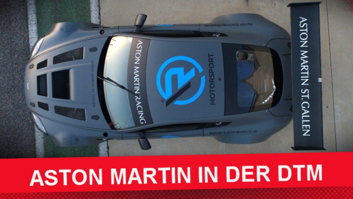 R-Motorsport steigt mit Lizenz von Aston Martin 2019 in die DTM ein, Foto: Motorsport-Magazin.com/R-Motorsport
