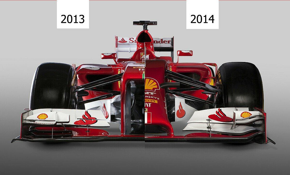 Beim Frontalvergleich wird deutlich: Hochnäsigkeit war einmal, Foto: Ferrari/adrivo