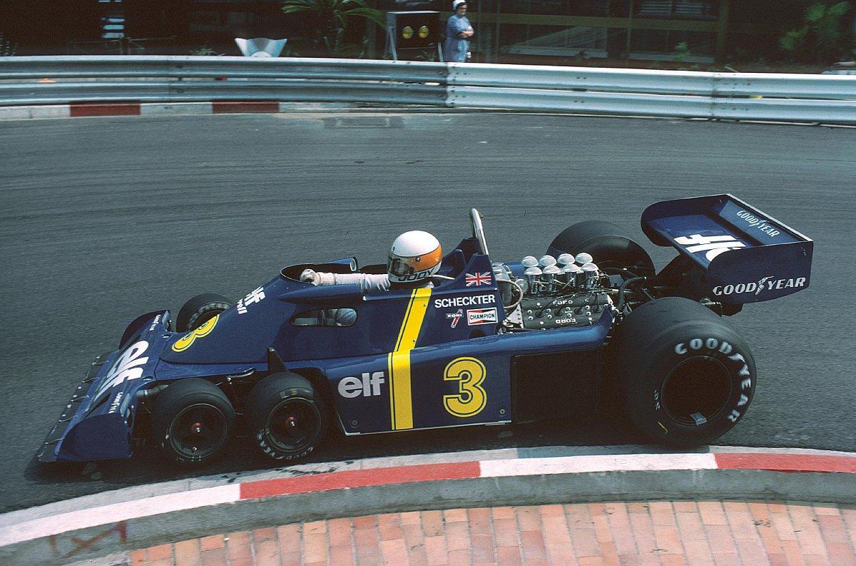 Der Tyrrell P34 sorgte für viel Aufsehen, Foto: Sutton