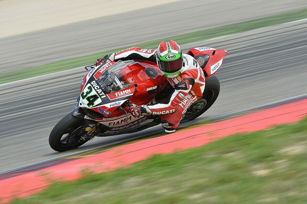 Davide Giugliano war nach dem ersten Trainings-Tag Fünfter, Foto: Ducati