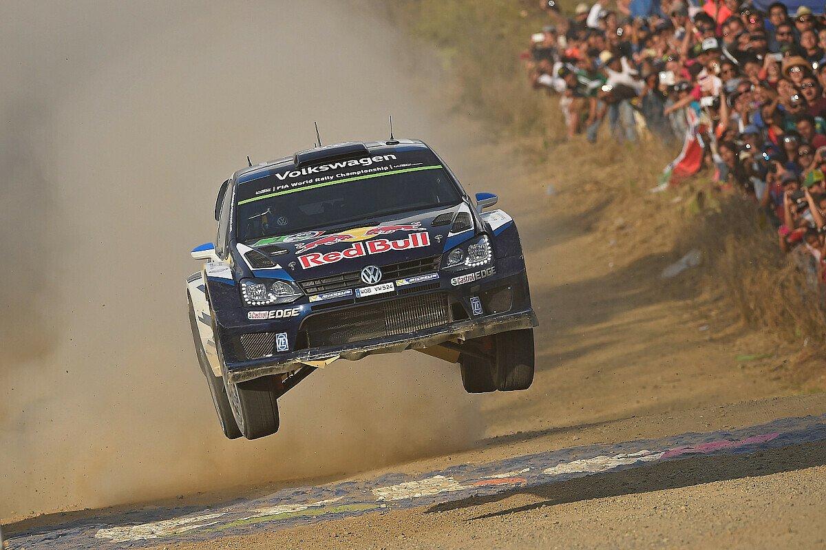 Sebastien Ogier feiert seinen dritten Saisonsieg, Foto: Volkswagen Motorsport
