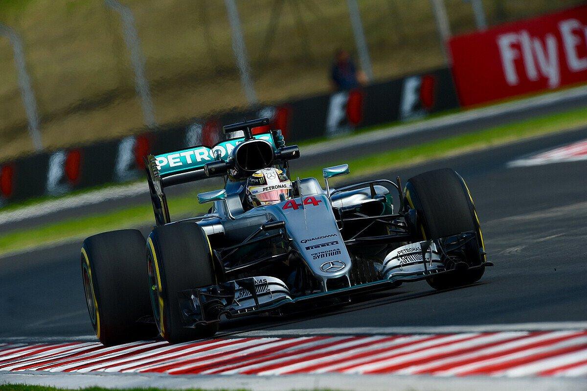 Lewis Hamilton hatte im 2. Training zum Ungarn GP der Formel 1 einen Unfall und konnte die Session nicht beenden, Foto: Sutton