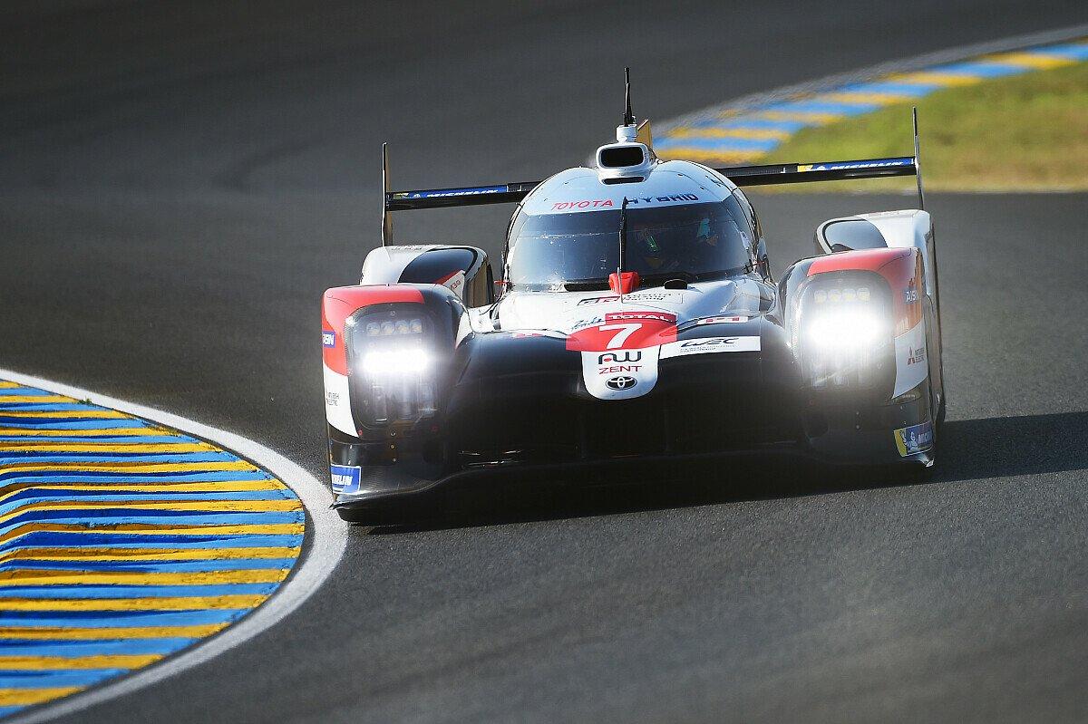 Toyota sichert sich die vorläufige Pole Position für das 24-Stunden-Rennen von Le Mans, Foto: LAT Images