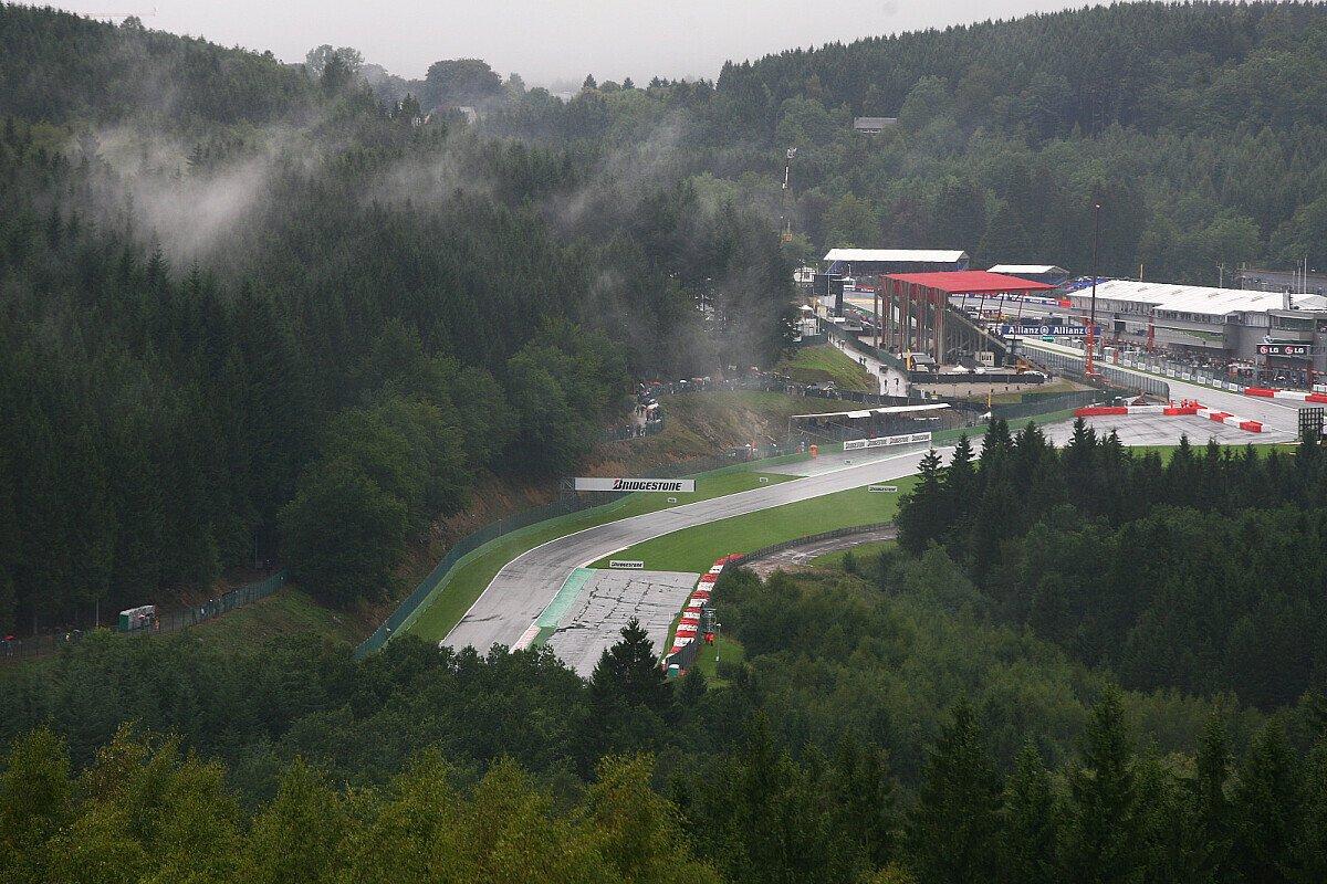 Regen ist in den Ardennen kein ungewohntes Bild, Foto: Sutton