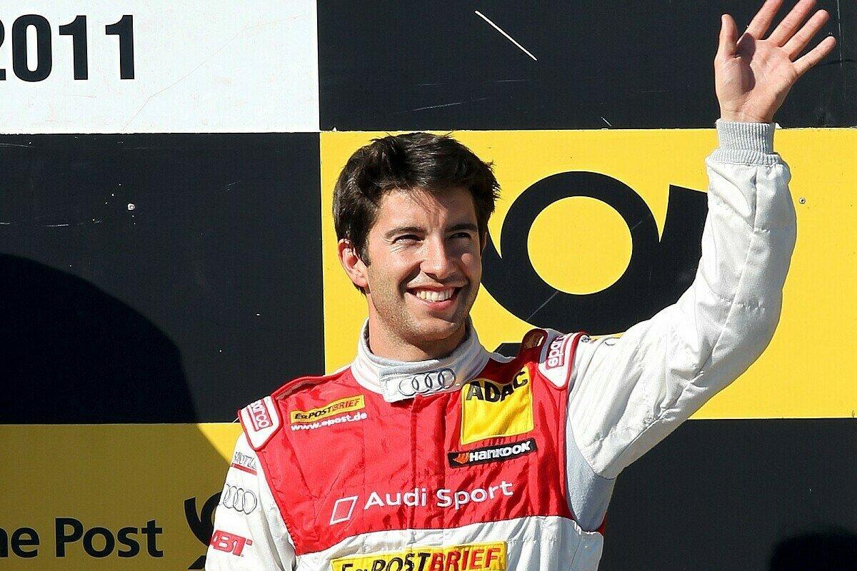 2011 sicherte sich Mike Rockenfeller den dritten Platz am Samstag, Foto: Sutton