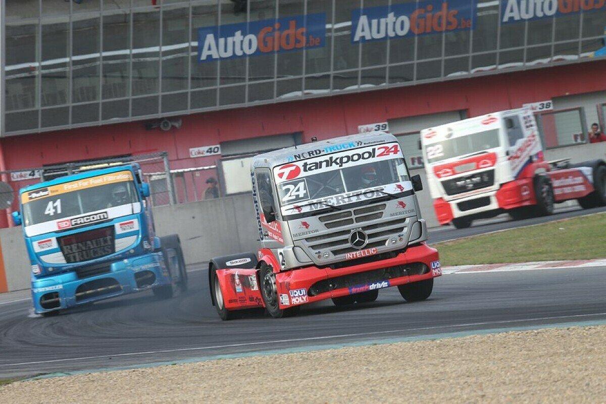 Auf dem Weg nach Spanien: MB Motorsport, Foto: Ellen Lohr