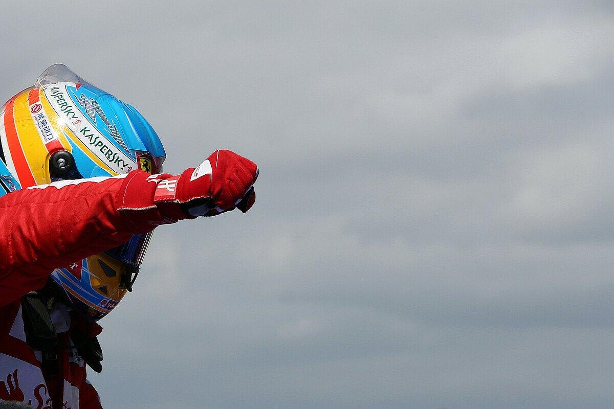 Alonso durfte zuletzt nur selten jubeln, Foto: Sutton