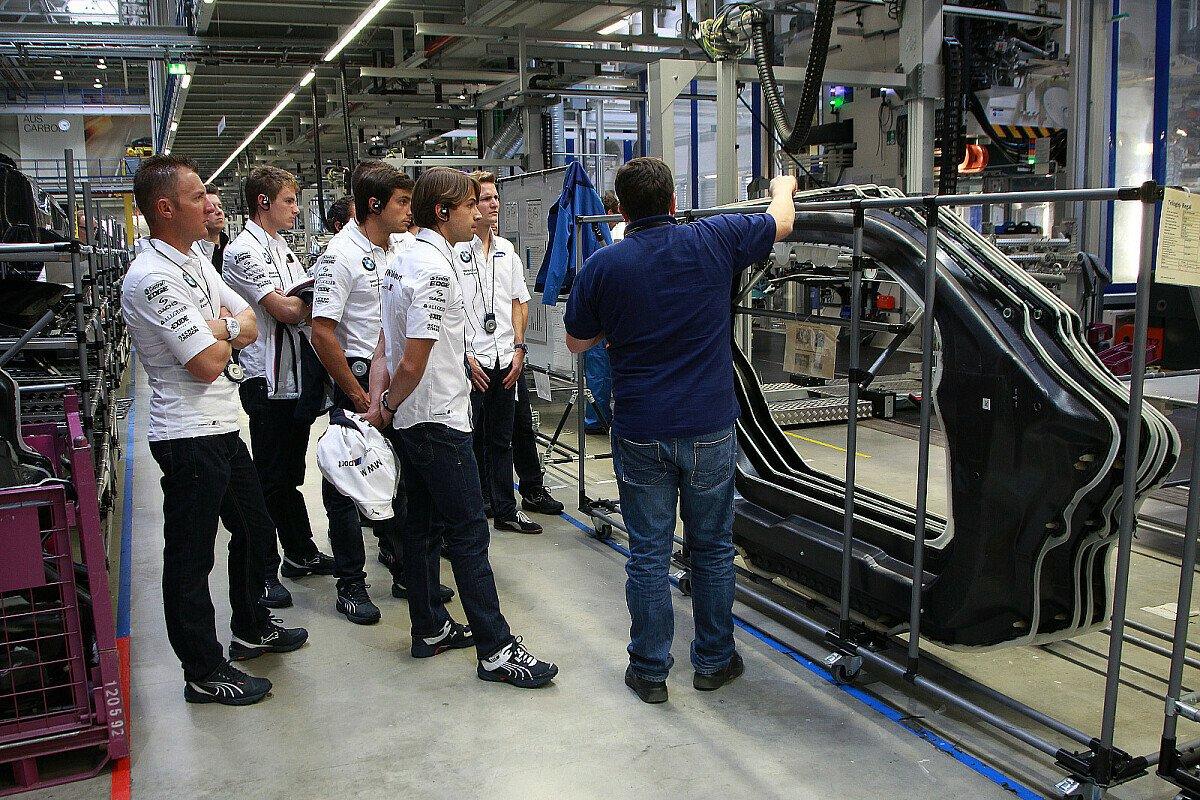 Eine Runde durch das Werk in Leipzig, Foto: BMW