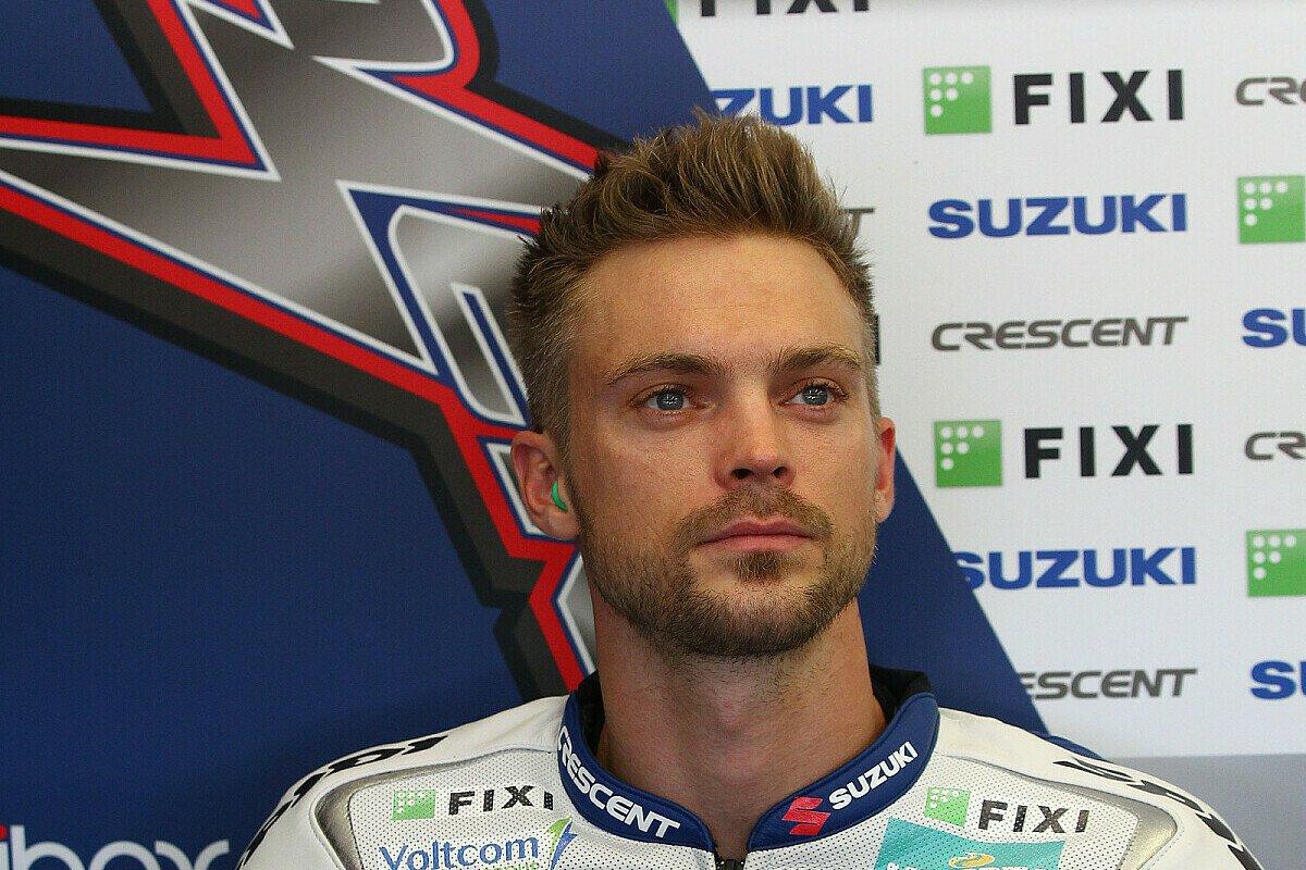Beim Saisonfinale in Jerez überzeugte Camier nach schwerer Verletzung noch mit guten Leistungen - nun steht er ohne Team da., Foto: Crescent Suzuki