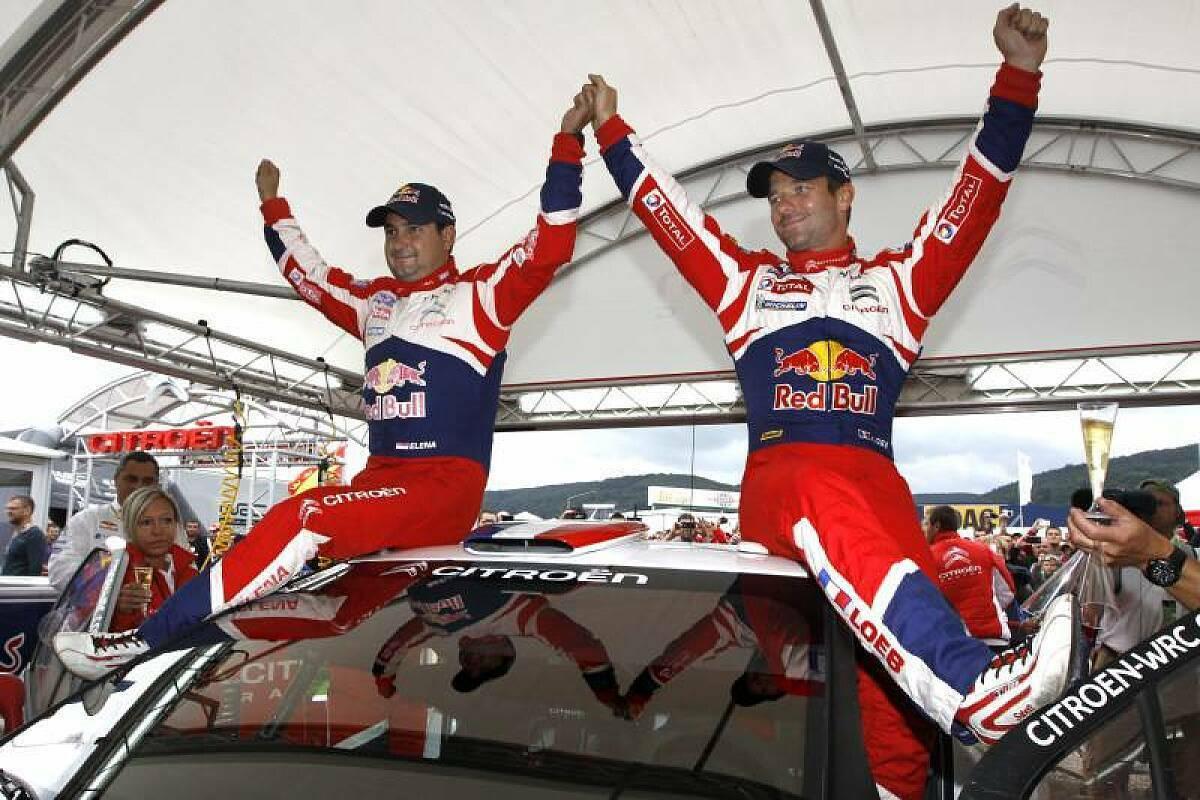 Loeb und Elena gewannen zusammen 9 WRC-Titel, Foto: Citroen