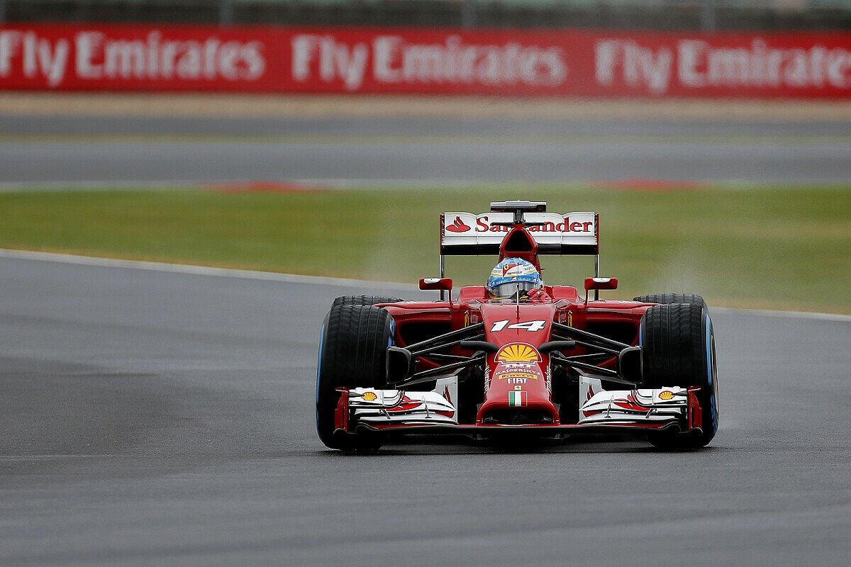 Für Ferrari ging das Qualifying in die Hose, Foto: Sutton