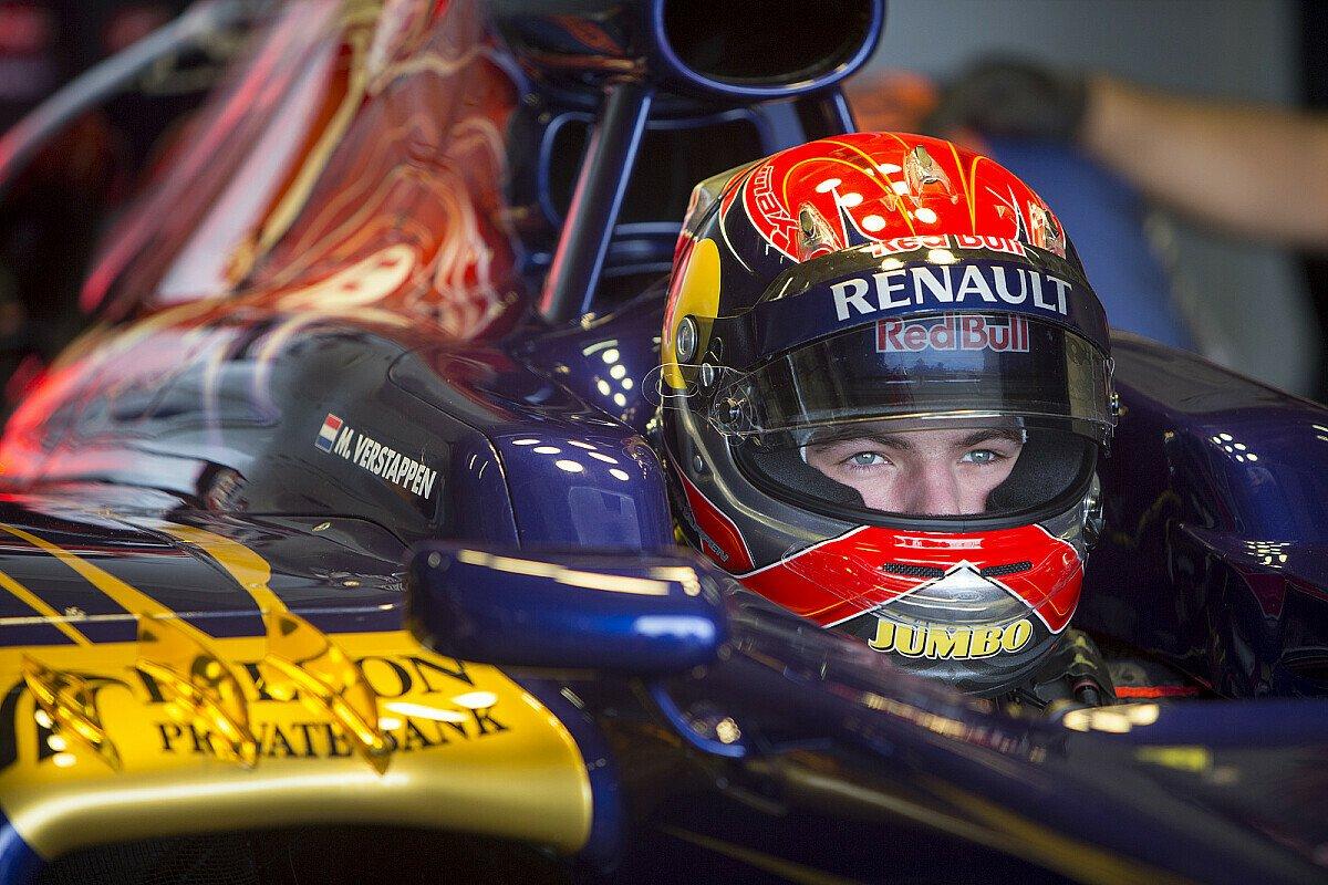 Herzlichen Glückwunsch zum 17. Geburtstag, Max Verstappen, Foto: Scuderia Toro Rosso