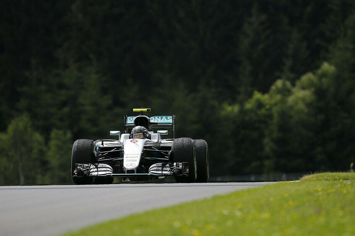 Nico Rosberg fuhr im 1. und 2. Freien Training von Österreich jeweils Bestzeit, Foto: Sutton