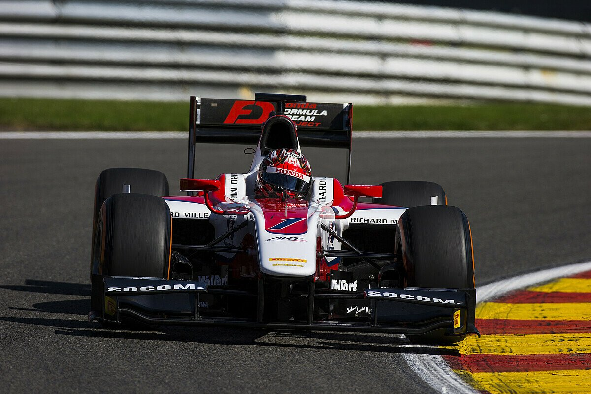 Nobuharu Matsushita fuhr in Barcelona Bestzeit, Foto: GP2 Series