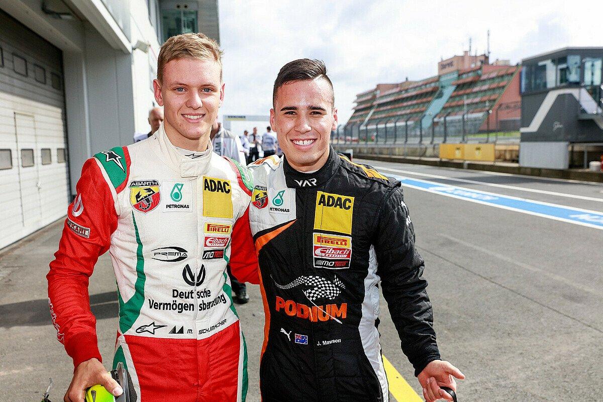 Showdown zwischen Joey Mawson und Mick Schumacher, Foto: ADAC Formel 4