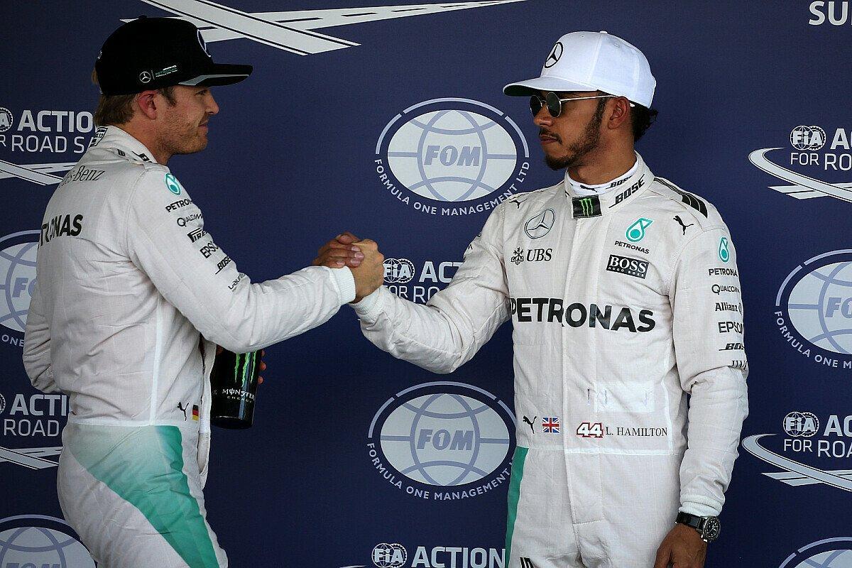 Neuauflage des F1-Duells unter anderen Vorzeichen: Rosberg gegen Hamilton, Foto: Sutton
