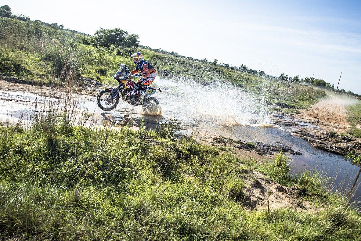 Toby Price gewinnt die zweite Etappe der Rallye Dakar 2017, Foto: Red Bull