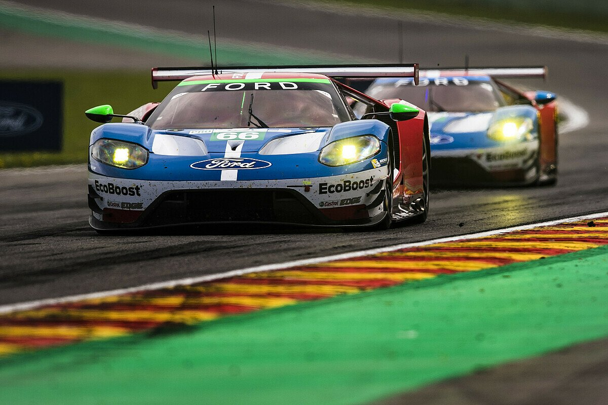 Starke Leistung des Ford Chip Ganassi Team UK-Piloten Stefan Mücke, Foto: Ford Chip Ganassi Racing