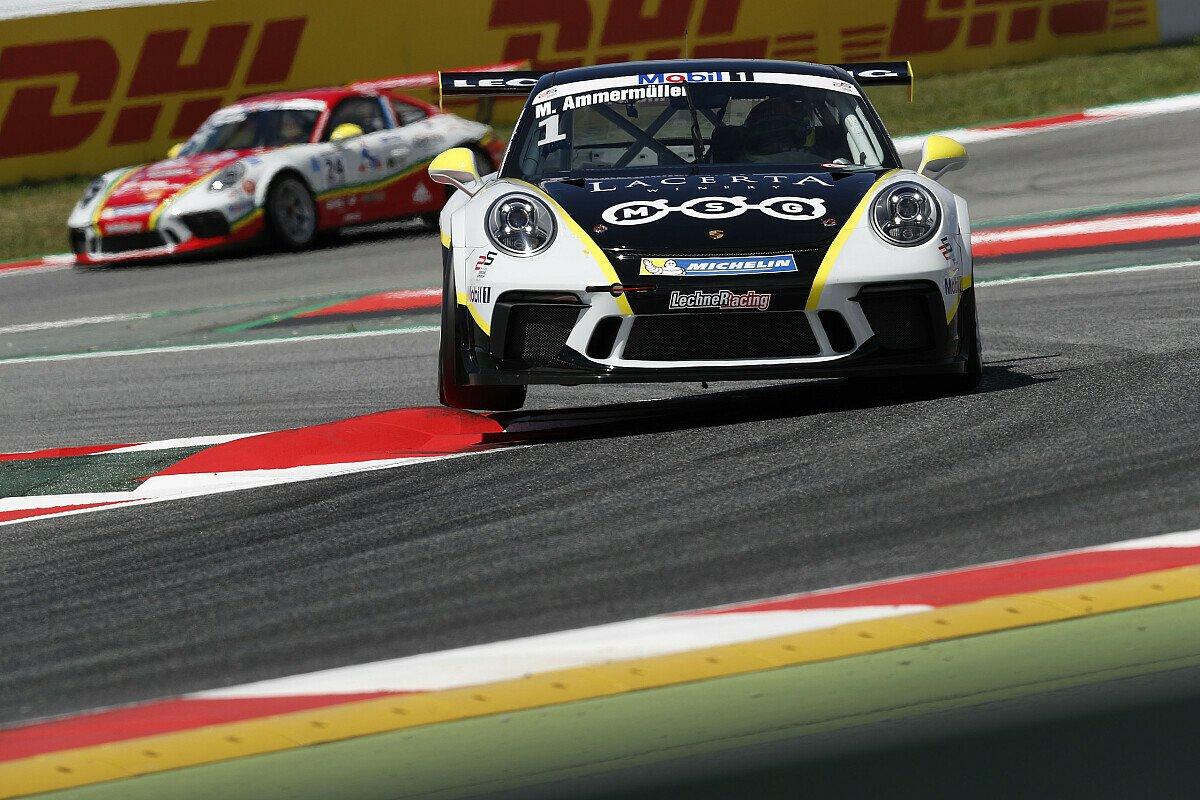 Michael Ammermüller hat das erste Rennen der neuen Saison gewonnen, Foto: Porsche