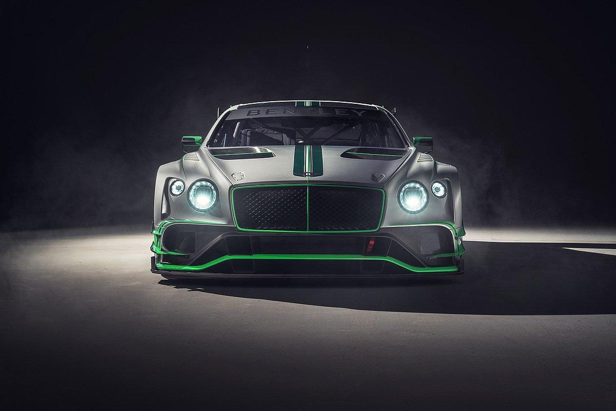 Bentley greift 2018 mit dem überarbeiteten Continental GT3 an, Foto: Bentley Motorsport