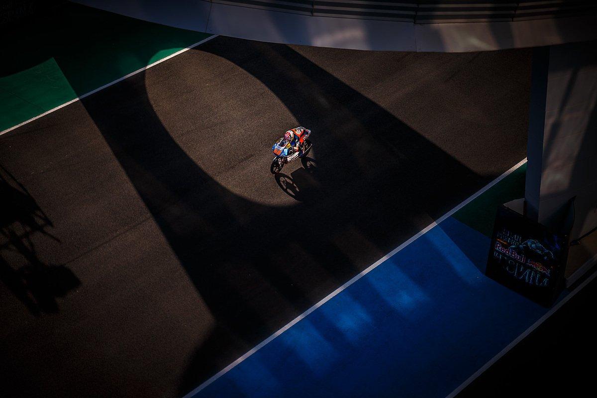 Mehr Schatten als Licht: Das Moto3-Rennen in Le Mans für Philipp Öttl, Foto: gp-photo.de/Ronny Lekl