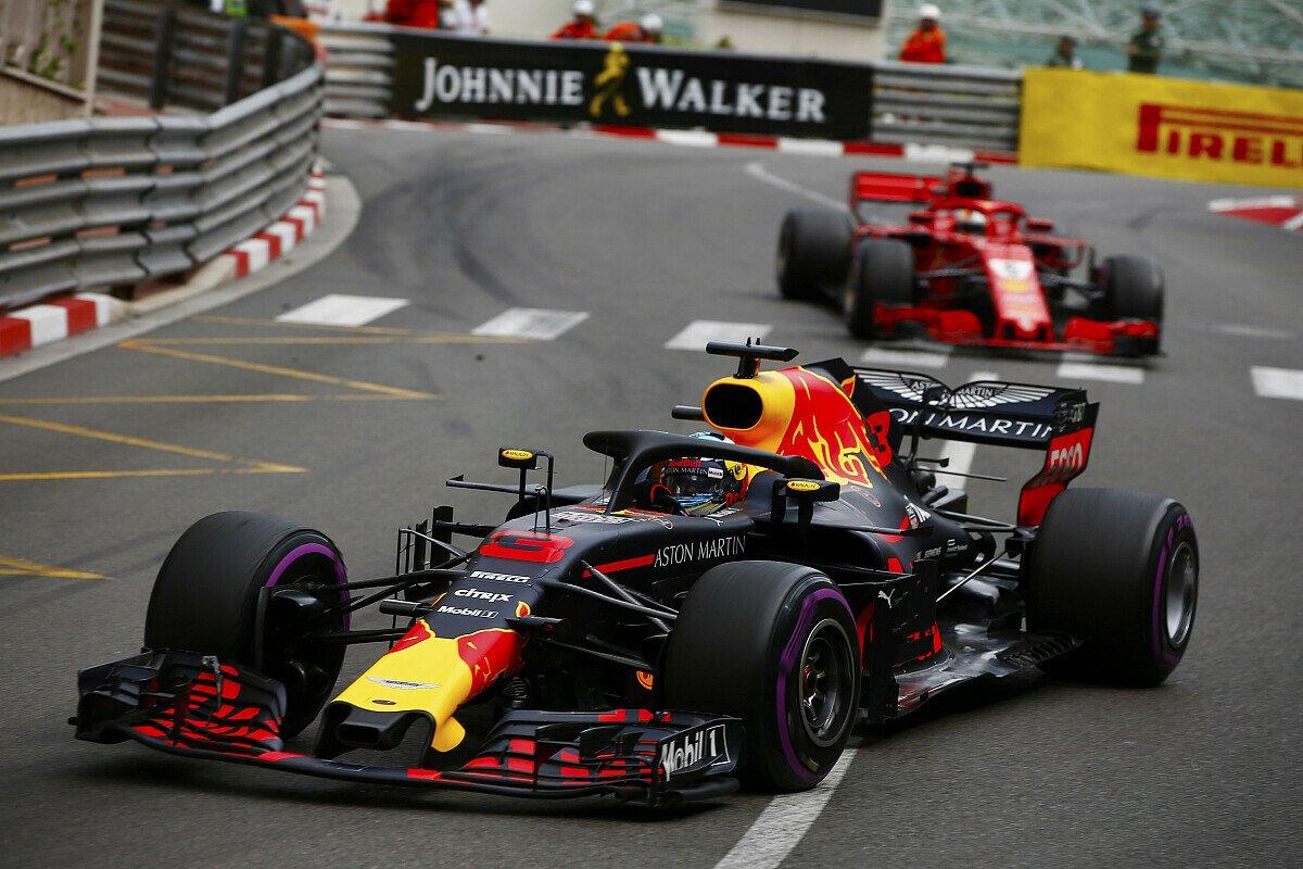 Daniel Ricciardo hat den Grand Prix von Monaco 2018 vor Sebastian Vettel gewonnen, Foto: LAT Images