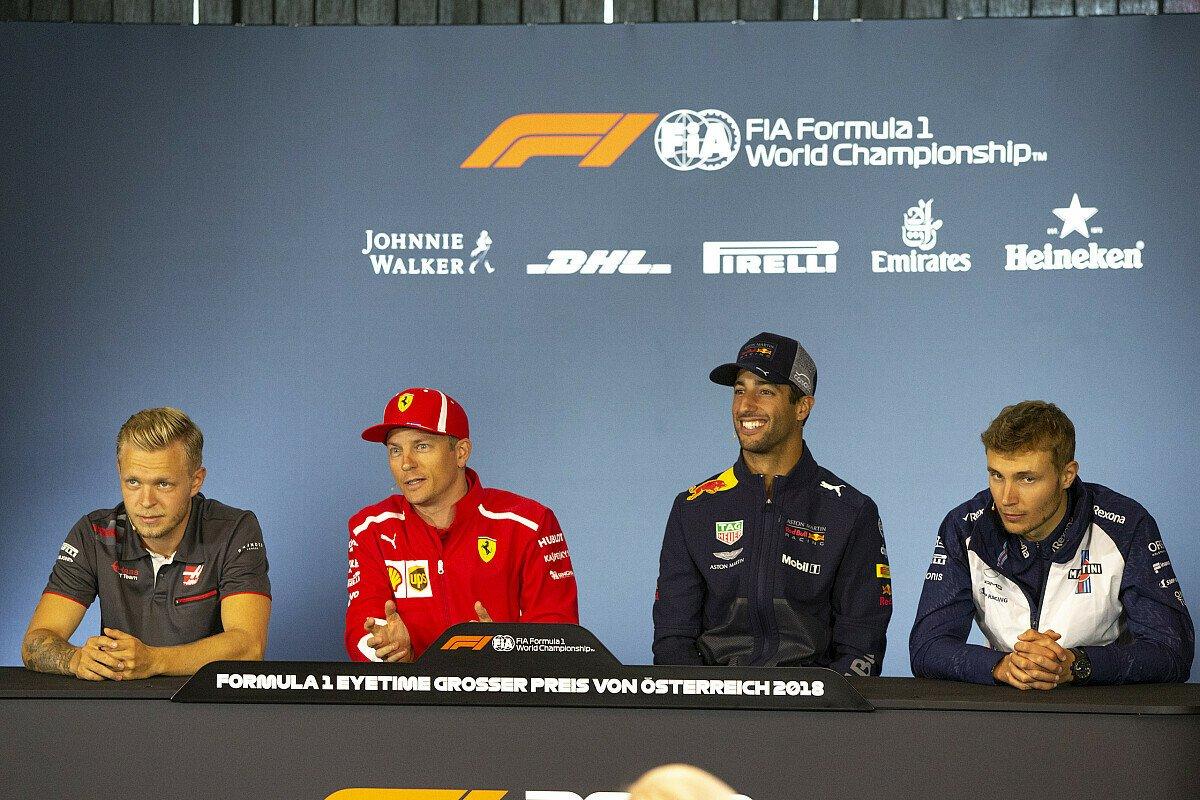 Heute im Formel-1-Live-Ticker: Der Donnerstag in Österreich, inklusive Pressekonferenz und Track-Walk, Foto: Sutton