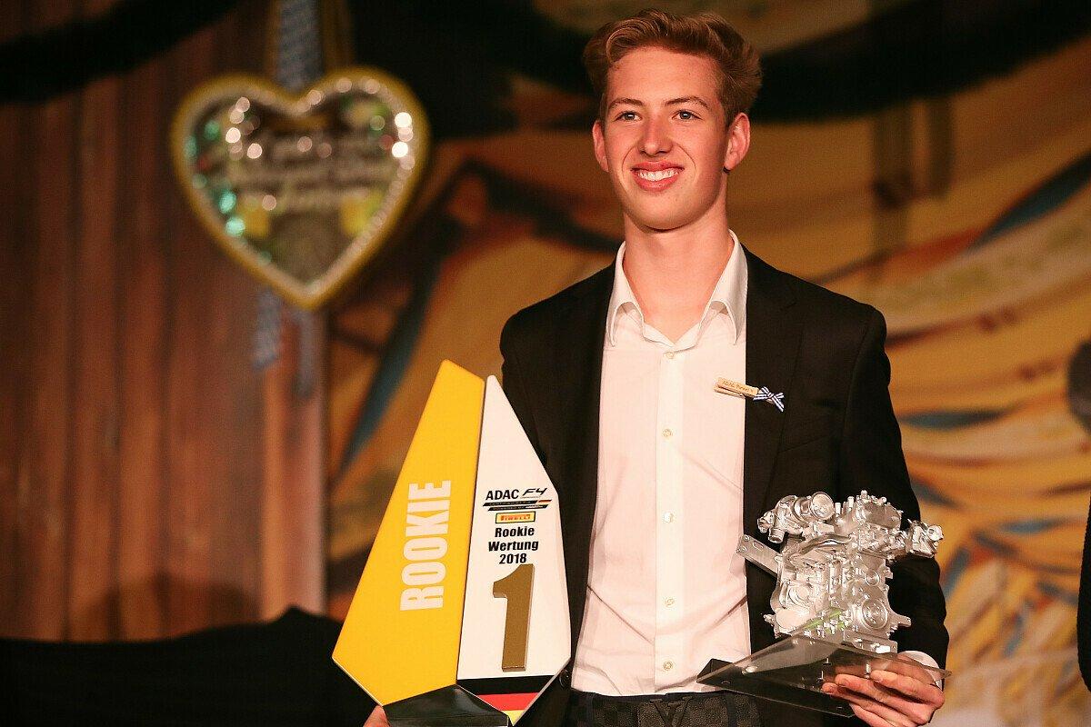Rookie-Champion David Schumacher, Foto: ADAC Formel 4