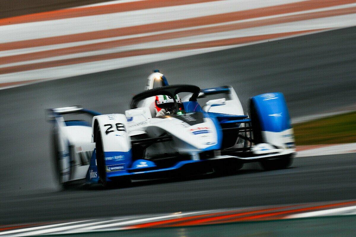 BMW feiert den ersten Sieg als Werksteam in der Formel E, Foto: LAT Images