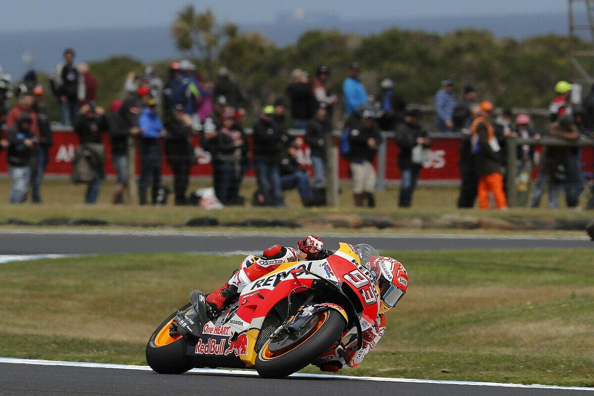 Marc Marquez steht auf Phillip Island auf Pole Position, Foto: Repsol Honda