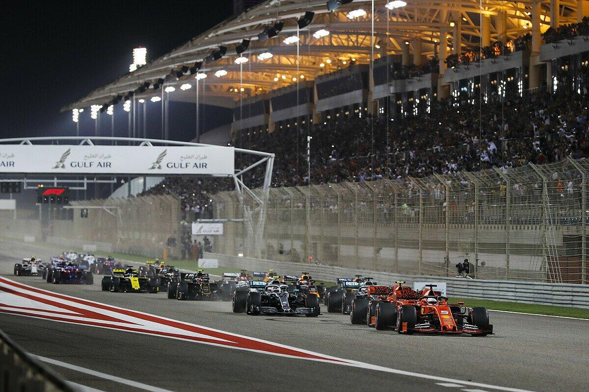 Die Formel 1 trägt beim Bahrain-Double 2020 ein Rennen auf dem exotischen 'Outer Layout' aus, Foto: LAT Images