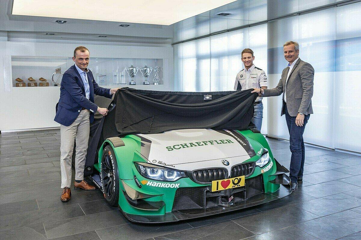 Marco Wittmann startet 2019 erstmals in den Schaeffler-Farben in der DTM, Foto: BMW Motorsport