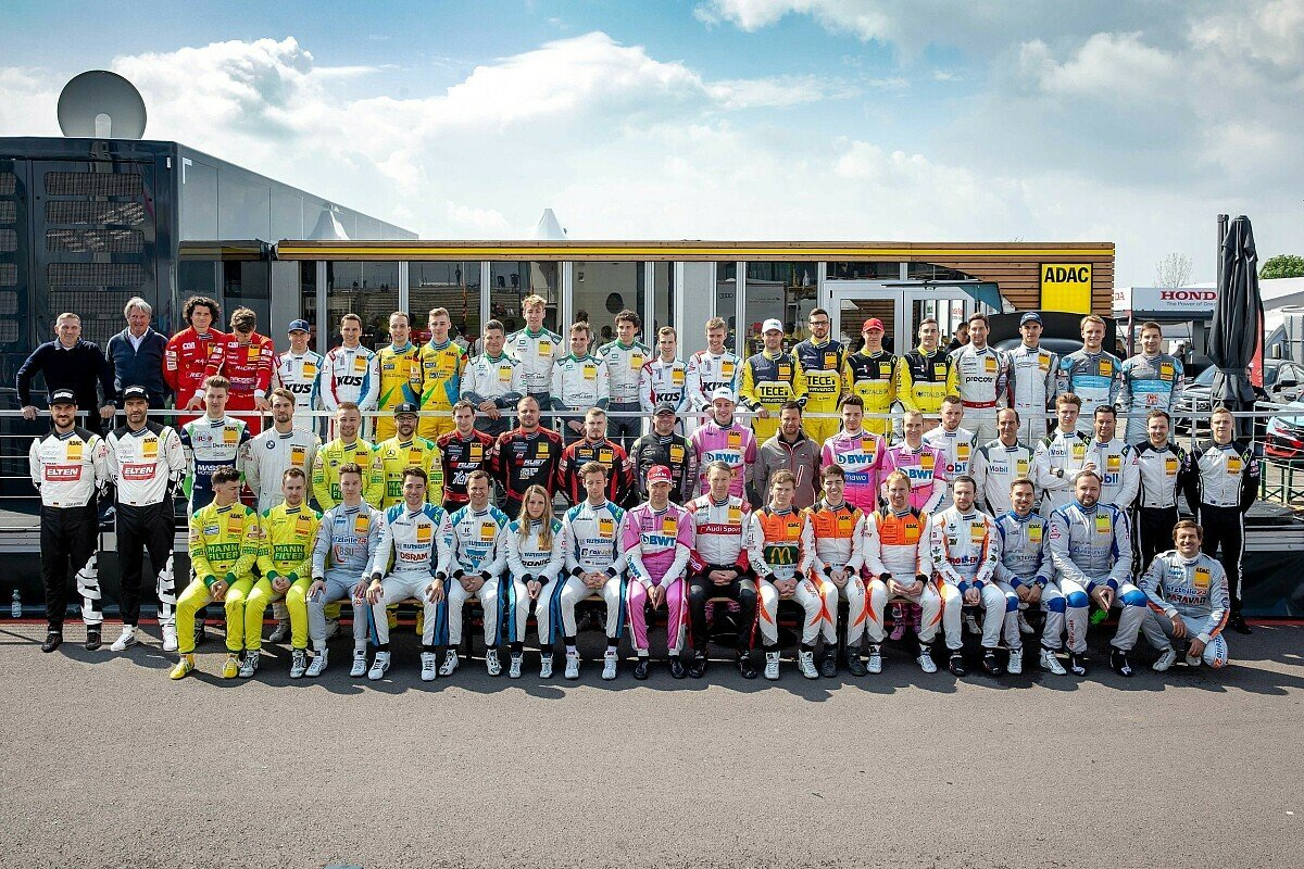 Das Starterfeld des ADAC GT Masters 2019, Foto: ADAC GT Masters
