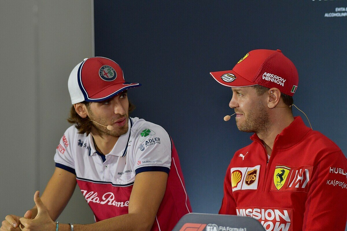 Antonio Giovinazzi will sich für Sebastian Vettels Nachfolge bei Ferrari 2021 empfehlen, Foto: LAT Images