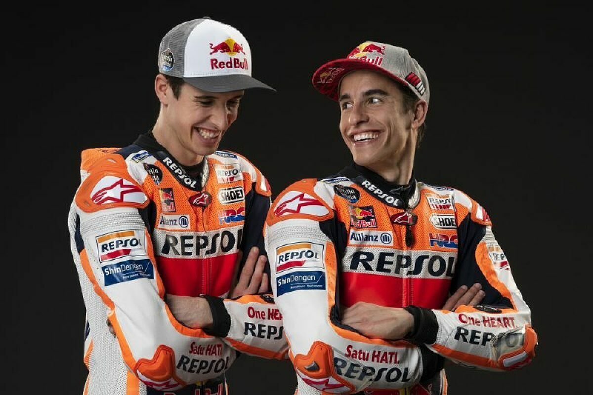 Die Marquez-Brüder sind sich uneinig, Foto: Repsol Honda