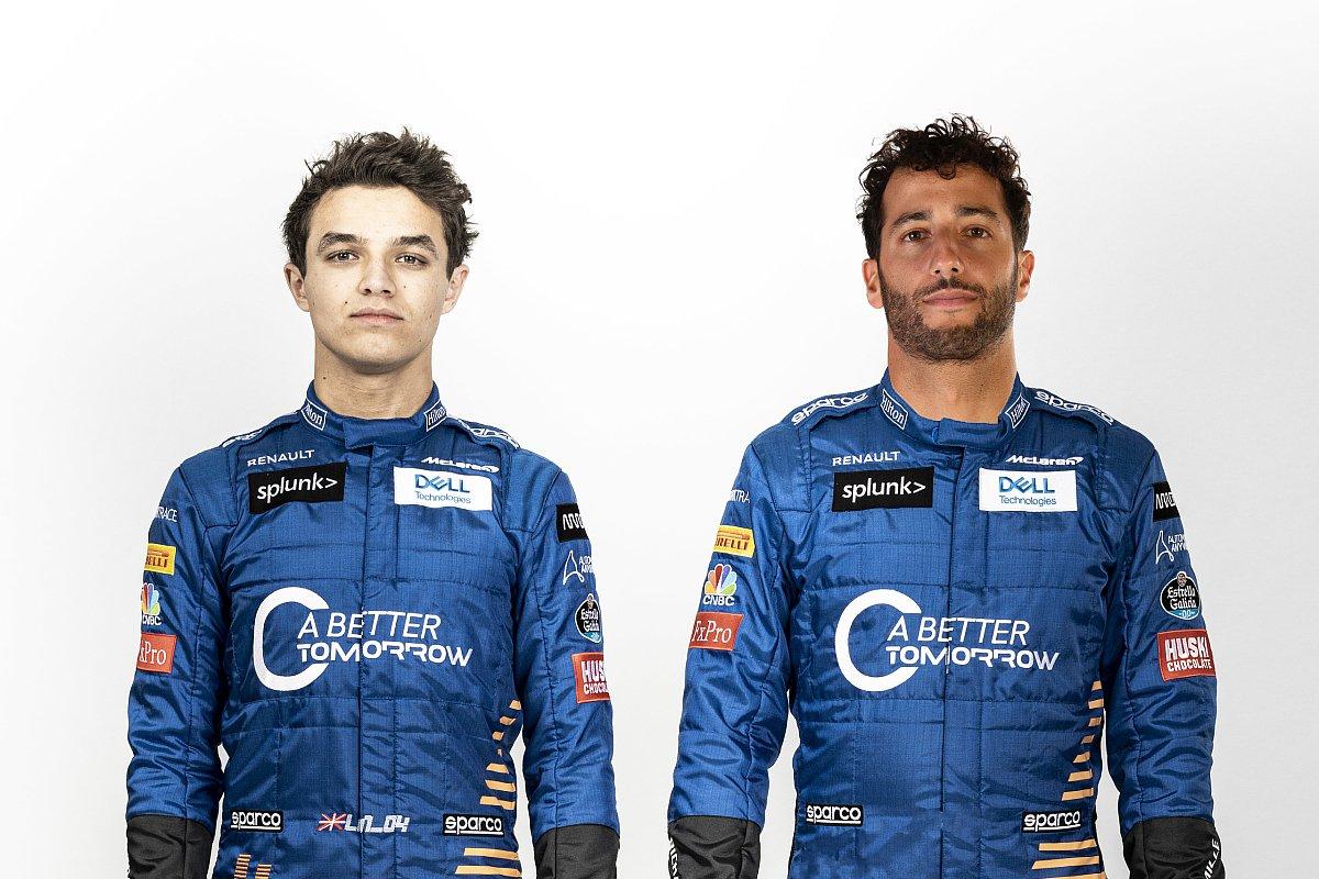 Lando Norris und Daniel Ricciardo sind in der Formel 1 ab 2021 bei McLaren-Mercedes Teamkollegen, Foto: McLaren/Renault/Motorsport-Magazin.com