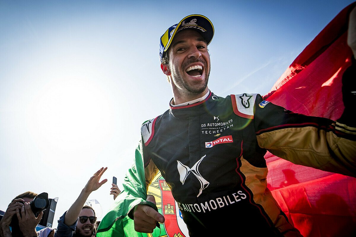 Mit langem Anluaf am Ziel angekommen: Formel-E-Champion Antonio Felix da Costa, Foto: LAT Images