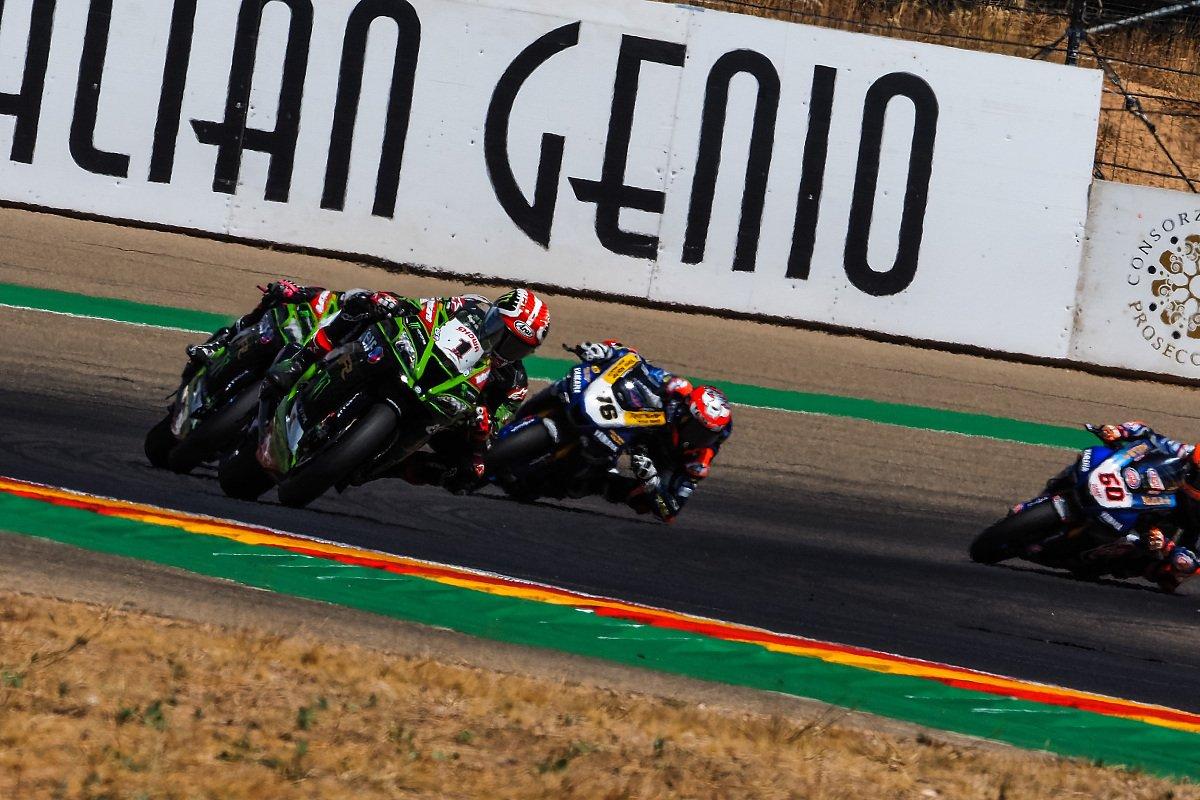 Jonathan Rea gewinnt beide SBK-Rennen am Sonntag in Aragon, Foto: WorldSBK