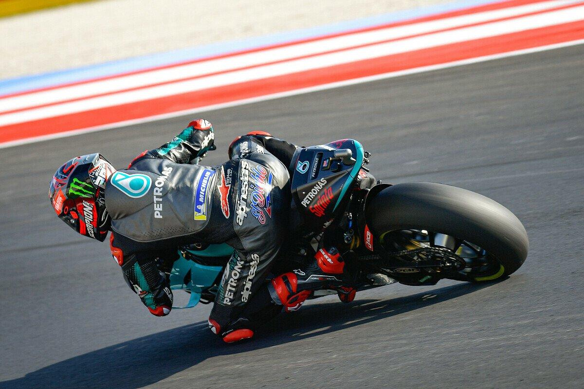 Fabio Quartararo startet von Reihe eins aus in Rennen, Foto: MotoGP.com